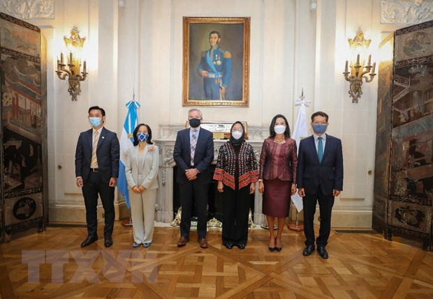 Argentina thuc day hop tac voi cac nuoc thanh vien ASEAN hinh anh 1