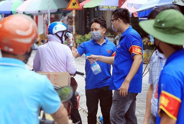 Hai Phong truy vet truong hop lien quan den 2 ca nghi nhiem COVID-19 hinh anh 1