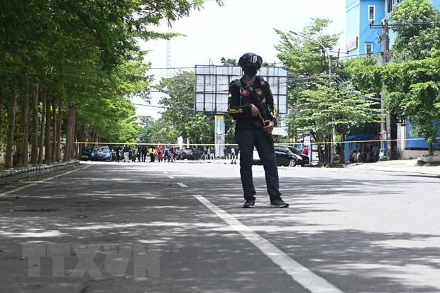 Indonesia tang cuong an ninh tai cac co so ton giao hinh anh 1