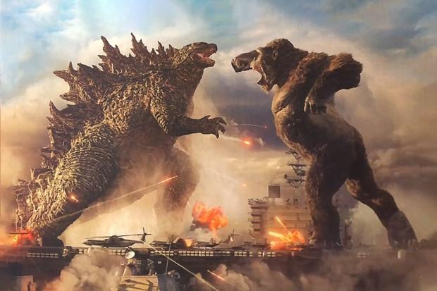 Bo phim 'Godzilla vs. Kong' pha vo ky luc phong ve thoi COVID-19 hinh anh 1