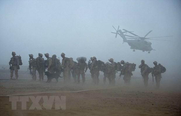 Lau Nam Goc len phuong an bao ve qua trinh rut quan o Afghanistan hinh anh 1