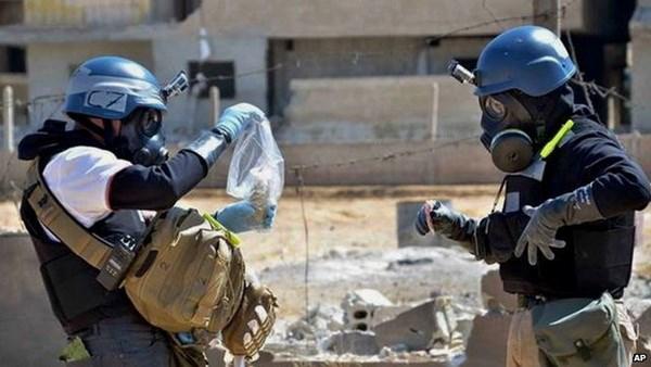 OPCW ban ke hoach tieu huy vu khi hoa hoc cua Syria hinh anh 1