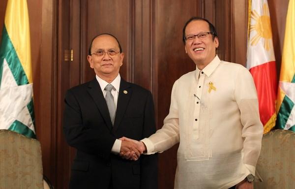 Philippines va Myanmar ky ket cac thoa thuan hop tac hinh anh 1