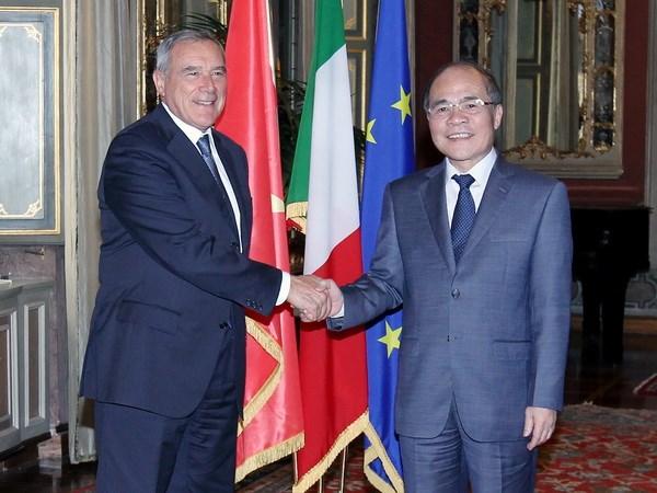 Italy san sang ho tro Quoc hoi Viet Nam nang cao nang luc hinh anh 1