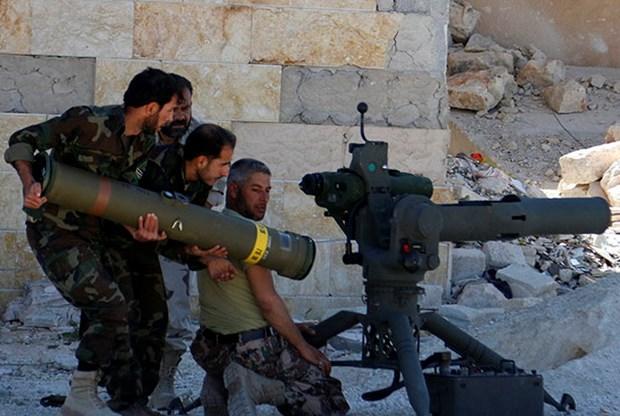 Phe doi lap Syria chuan bi nhan vu khi