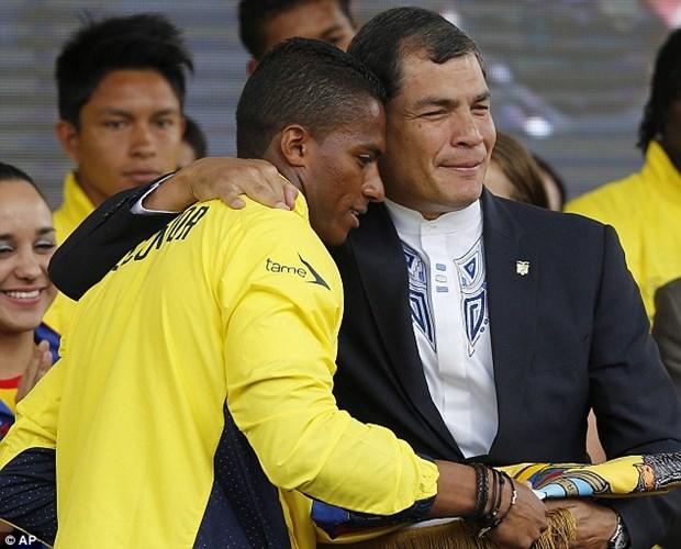 Tong thong Ecuador ky vong vao