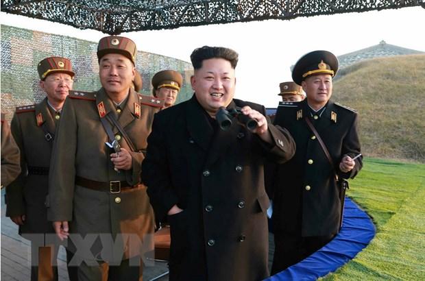 Trieu Tien the trung thanh voi nha lanh dao Kim Jong-Un hinh anh 1