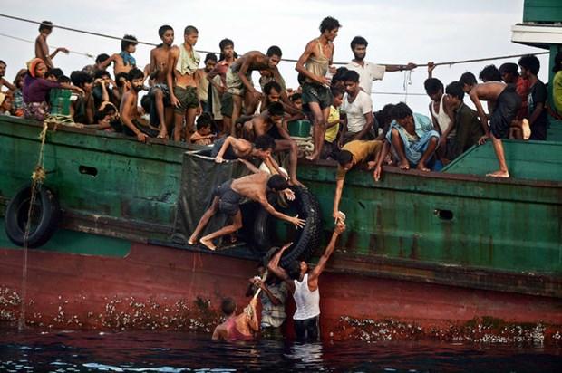 Campuchia de ngo kha nang tiep nhan nguoi Rohingya di cu hinh anh 1