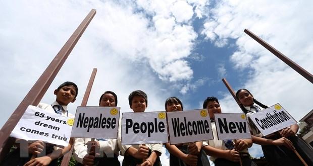 An Do tran an Nepal sau cang thang lien quan den Hien phap moi hinh anh 1