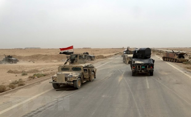Iraq phat dong giai doan 2 chien dich chong IS o mien Trung hinh anh 1