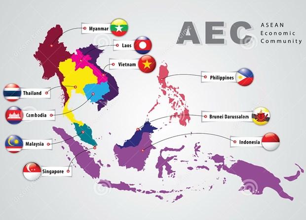 Cong dong Kinh te ASEAN: Thach thuc tu khoang cach phat trien hinh anh 1