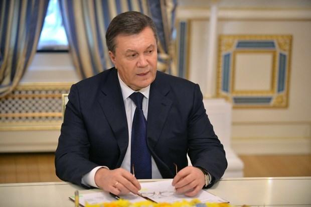 Cuu Tong thong Ukraine Yanukovych muon quay lai chinh truong hinh anh 1