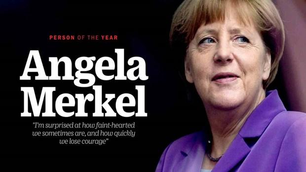 [Video] Nguoi dan ba thep Angela Merkel: Nhan vat cua nam 2015 hinh anh 1