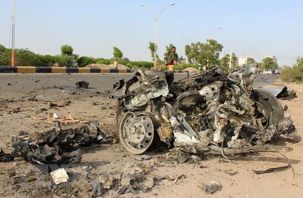 Yemen: Danh bom xe lieu chet nham vao nha Canh sat truong Aden hinh anh 1