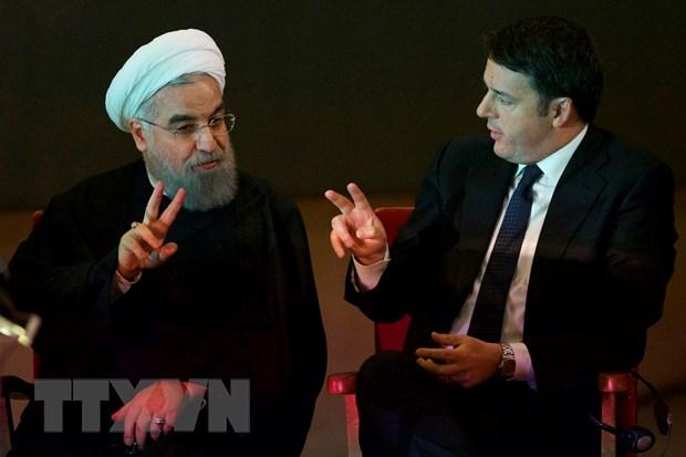 Iran va Italy ky cac thoa thuan thuong mai tri gia 18,4 ty USD hinh anh 1