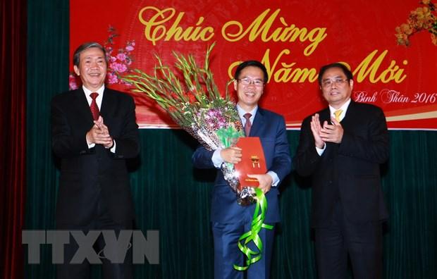[Video] Bo Chinh tri phan cong nhan su Ban Tuyen giao Trung uong hinh anh 1