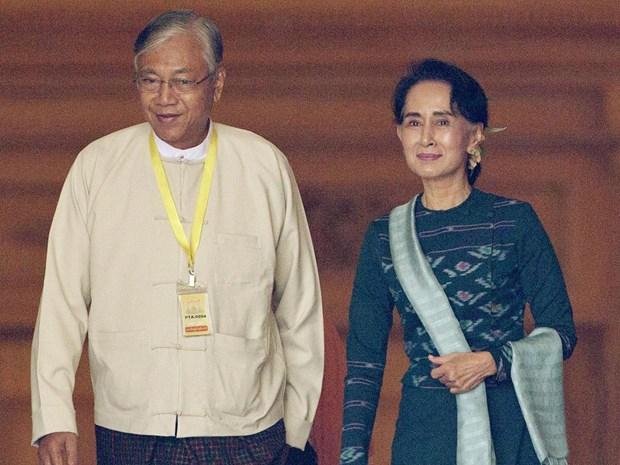 Chang duong gap ghenh doi voi tan tong thong Myanmar hinh anh 1