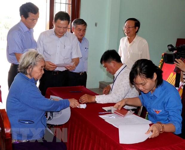 Ban chi dao trung uong ve quy che dan chu co so lam viec o Quang Ngai hinh anh 1