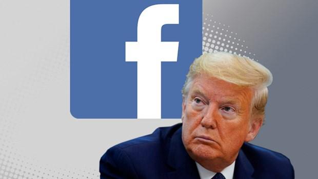 Facebook go bai dang cua Tong thong Trump ve virus SARS-CoV-2 hinh anh 1