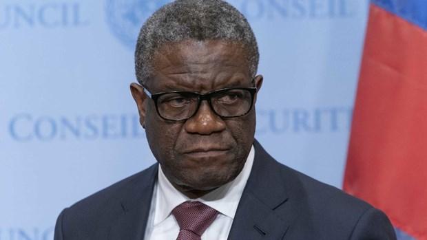 LHQ cu binh sy bao ve nguoi doat giai Nobel hoa binh Denis Mukwege hinh anh 1