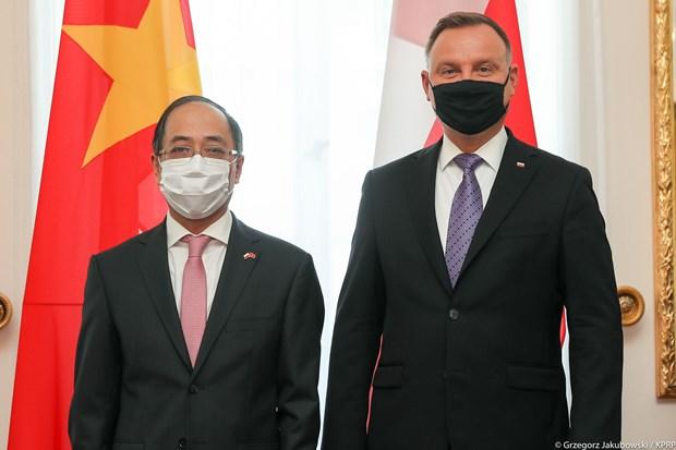 Ba Lan mong muon thuc day quan he hop tac nhieu mat voi Viet Nam hinh anh 1