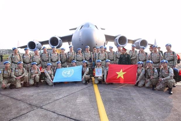 Viet Nam danh gia cao nhung dien bien tich cuc tai Nam Sudan hinh anh 1