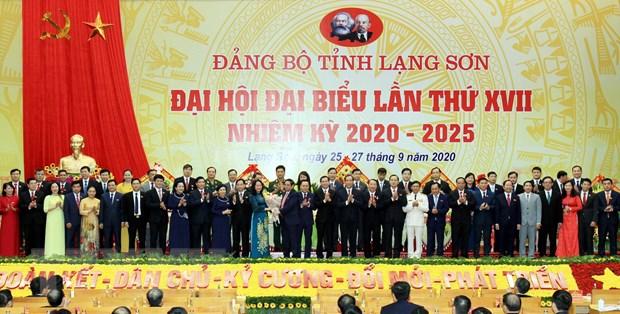 Ba Lam Thi Phuong Thanh tai dac cu Bi thu Tinh uy Lang Son hinh anh 1
