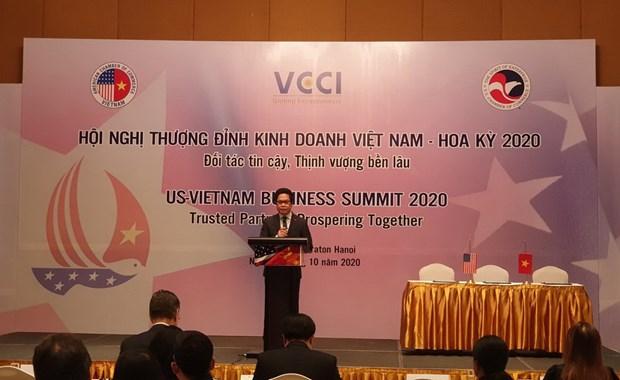 Nang tam quan he hop tac thuong mai song phuong Viet Nam-Hoa Ky hinh anh 1