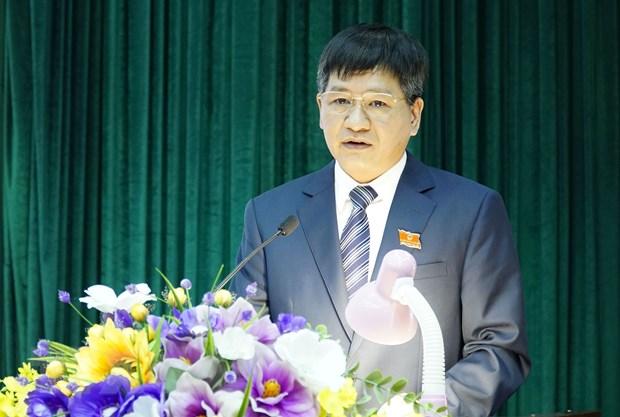 Ong Le Thanh Do duoc bau giu chuc Chu tich UBND tinh Dien Bien hinh anh 1