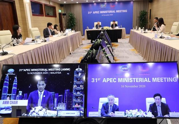 Thai Lan neu 4 van de tai Hoi nghi Bo truong Ngoai giao-Kinh te APEC hinh anh 1