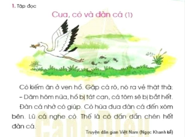 [Audio] Sach giao khoa Tieng Viet lop 1: Canh Dieu roi se bay ve dau? hinh anh 1