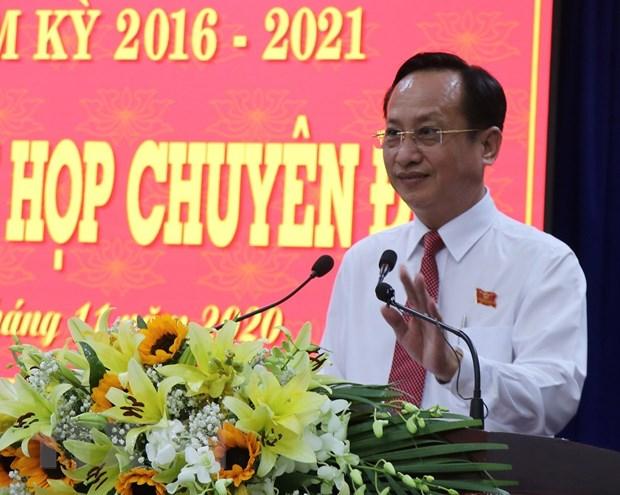Ong Pham Van Thieu duoc bau giu chuc Chu tich UBND tinh Bac Lieu hinh anh 1