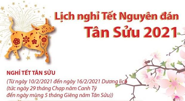 Chinh thuc: Lich Nghi Tet Nguyen dan Tan Suu va Quoc khanh 2021 hinh anh 1
