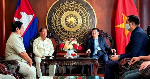 Thu tuong Hun Sen: Su ung ho cua Viet Nam giup Campuchia gianh tu do hinh anh 2