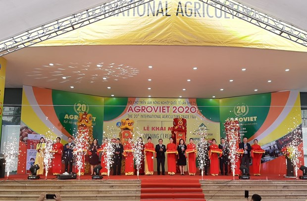Trien lam quoc te AgroViet 2020 - Ket noi gia tri nong san Viet Nam hinh anh 1