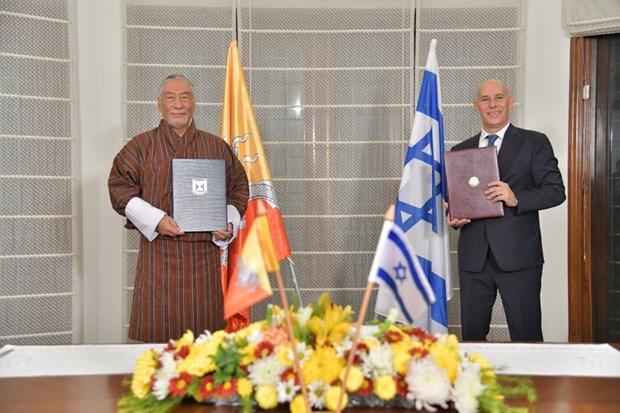 Sau binh thuong hoa voi Maroc, Israel thiet lap quan he cung Bhutan hinh anh 1
