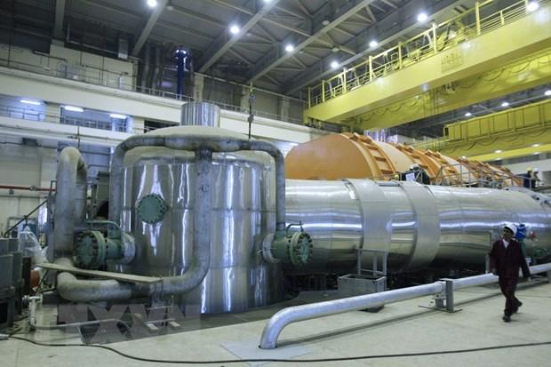 Iran noi lai hoat dong san xuat uranium lam giau o muc nguy hiem 20% hinh anh 1