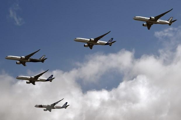 Don dat hang cua nha san xuat may bay Airbus giam 65% trong nam 2020 hinh anh 1
