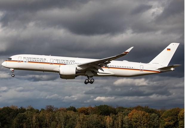 Khám phá chuyên cơ mới của Chính phủ Đức với khả năng bay nửa vòng Trái Đất