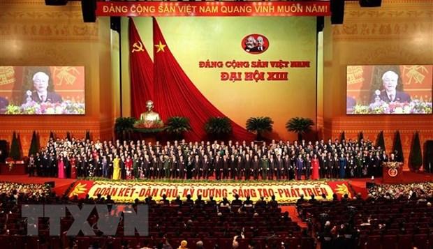 Dai su Viet Nam trao doi voi Dang Cong san Nam Phi ve ket qua Dai hoi hinh anh 1