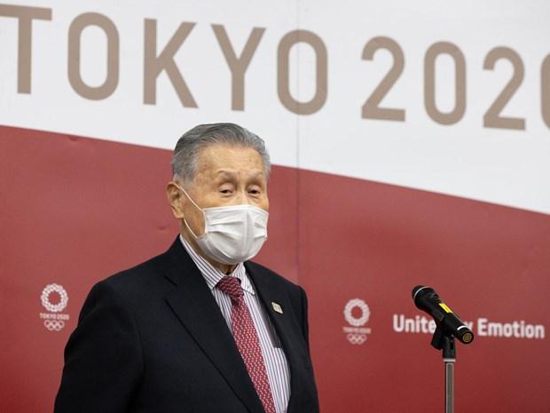 Truong Ban To chuc OlympicTokyo tu chuc vi phat bieu coi thuong phu nu hinh anh 1