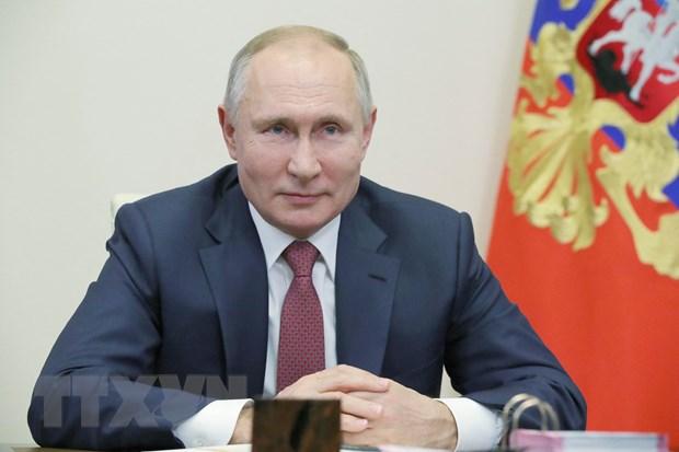 Tong thong Putin: Quan doi Nga tu tin doi mat voi cac thach thuc lon hinh anh 1