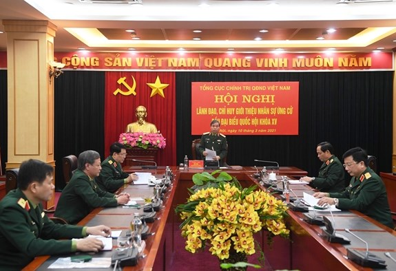 Tong cuc Chinh tri gioi thieu nhan su ung cu dai bieu Quoc hoi khoa XV hinh anh 1