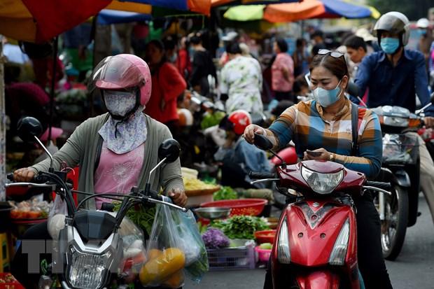 COVID-19: Campuchia lan dau tien ghi nhan so lay nhiem moi vuot 100 ca hinh anh 1