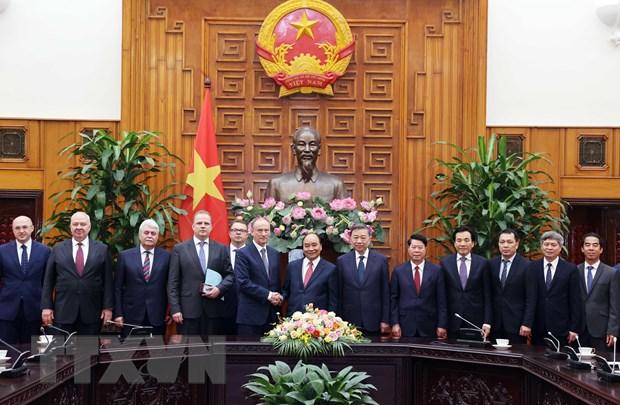 Thu tuong Nguyen Xuan Phuc tiep Thu ky Hoi dong An ninh quoc gia Nga hinh anh 1