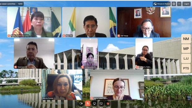 Brazil danh gia cao vai tro trung tam cua cac nuoc ASEAN trong khu vuc hinh anh 1