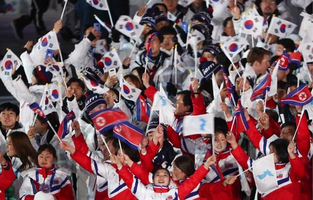 Seoul gui IOC de xuat dong dang cai The van hoi 2032 voi Binh Nhuong hinh anh 1