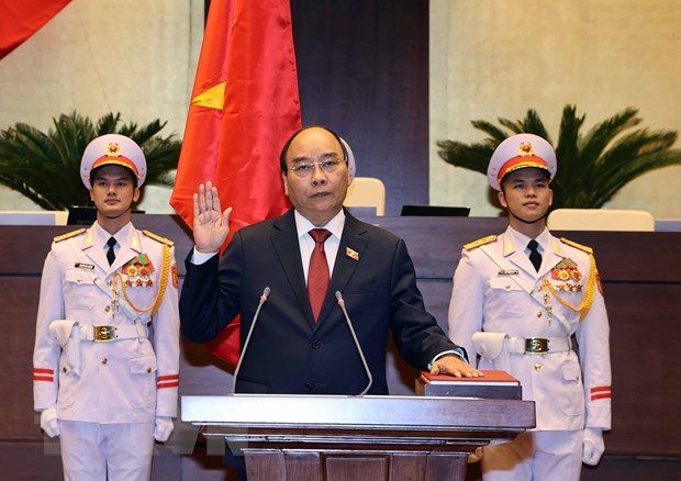 Thu tuong Campuchia gui thu chuc mung Chu tich nuoc Nguyen Xuan Phuc hinh anh 1