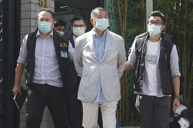 Trung Quoc: Trum truyen thong Hong Kong nhan toi tu tap bat hop phap hinh anh 1