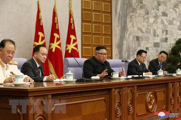 Ong Kim Jong-un chi dao cong tac phat trien dang Lao dong Trieu Tien hinh anh 1
